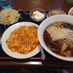 四季紅福 - 玉子チリソースランチセット