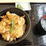 レストイン黒部 - 白エビかき揚げ丼