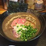 麺屋 太陽 - 麺屋太陽 濃厚豚骨800円