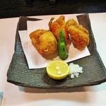 日本料理 川匠 - ふぐ唐揚げ