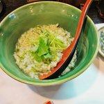 日本料理 川匠 - 海苔の雑炊