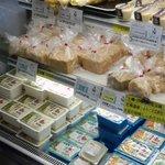 柴田豆腐店 - 陳列