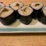 和食と鮨のに条 - わさび巻き