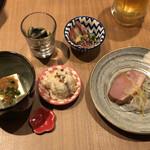 神田箸庵 - 前菜盛り合わせ