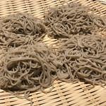 神田箸庵 - 北海道 石狩沼田 キタワセ種使用 店内自家製粉のそば粉を使用した出来たて蕎麦