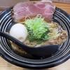 極麺 青二犀 - 料理写真:【しょうゆらーめん + 煮たまご】¥700 + ¥100