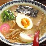 清洋軒 - 味噌チャーシュー麺(三代目点前);伏兵に,ヤられました! @ 2011/04/15