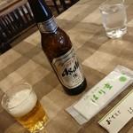 103271947 - ビールは小瓶です。