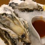 名古屋 なまずや - 【生牡蠣】       プルップルで凄く美味しかったから5コ頂きました(^^)