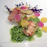 神田末広町 イタリアンレストラン ラレンツァ - ポワレはすゞき