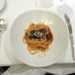 神田末広町 イタリアンレストラン ラレンツァ - 牛肉のボロネーゼスパゲッティーニ