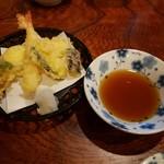 太閤寿し - ほろ酔いセットの天ぷら