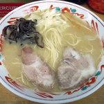 ラーメン・餃子 大勝 - 「ラーメン(カタメン)」600円
