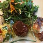 Kafedomon - ワンプレートに京野菜たっぷり