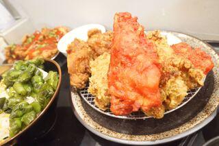 札幌ザンギ本舗 - ベニ、のり塩、韓国風