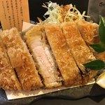 くずし割烹 豚美 - 黒豚ロースとんかつ 1500円