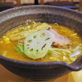 新麺 鯛出汁らーめん めで鯛 - 料理写真:熟成味噌らーめん