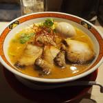 YAMACHAN - 味噌らーめん 肉増量&味玉トッピング
