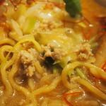 YAMACHAN - 味噌らーめん(鶏ミンチ&玉ねぎ)