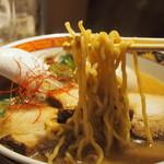 YAMACHAN - 味噌らーめん(西山製麺さんの麺)
