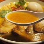 YAMACHAN - 味噌らーめん(スープ)