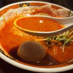 YAMACHAN - 辛味噌らーめん(スープ)