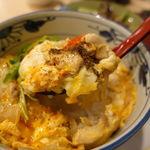 本格炭火串焼 あおば - 大山鶏の親子丼(大盛り無料) 800円
