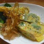サーモンバル パーシャ - サーモンとブロッコリーのスパニッシュオムレツ