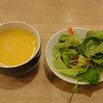羊の家 - スープ&サラダ ※各ランチメニュー共通