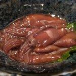 鶏っく - ホタルイカの沖漬け