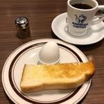 星乃珈琲店 - 星乃ブレンド 480円。モーニングサービス 0円。