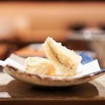 鮨 由う - 子持ち昆布の天ぷら