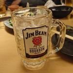 熟成魚と日本酒と藁焼き 中権丸 - ハイボール