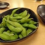 熟成魚と日本酒と藁焼き 中権丸 - 枝豆