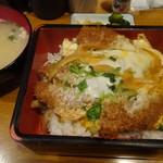 いわさき - カツ丼セット
