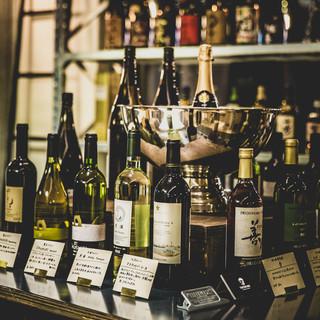 【国産ワインビュッフェ】美味しいお酒をリーズナブルに!