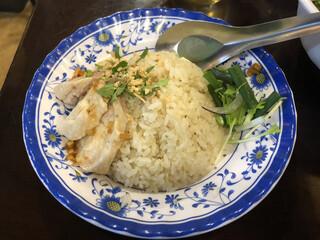 チョップスティックス 高円寺本店 - 「鶏飯(ハーフ)」