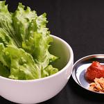 炭火焼肉ホルモン しんちゃん - 野菜セット
