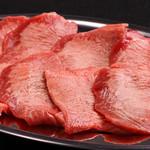 炭火焼肉ホルモン しんちゃん - タン