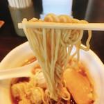 麺や豊 - 細麺リフト