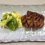 牛舌の店 多津よし - 牛たん焼定食 二(牛たん・麦めし・テールスープ)