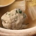 網元料理あさまる - 地アジのつみれ鍋