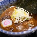 松戸富田麺絆 - 濃厚豚骨魚介つけ汁
