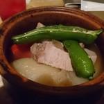 103321690 - 神戸ポークと京野菜のポトフ