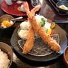 百家 - 料理写真:大海老フライ定食