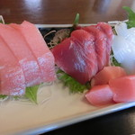 あみもと - 料理写真:刺身盛り合わせ