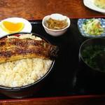 麻生屋本店 - うな丼 ご飯特盛 ¥2200