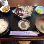 仙台・くじら 一乃谷 - 料理写真:Wランチ定食