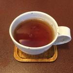 ジャム cafe 可鈴 - 【週替わりランチ(1,050円)】食後のドリンクはホットティーで。