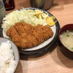 103329905 - とん喜(ロースかつ定食)